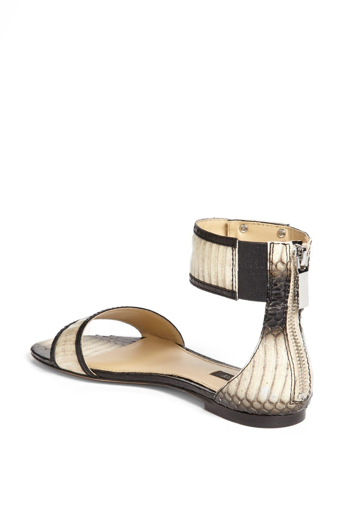 Alternate Image 2  - Rachel Zoe 'Gracie' Genuine Snakeskin Sandal