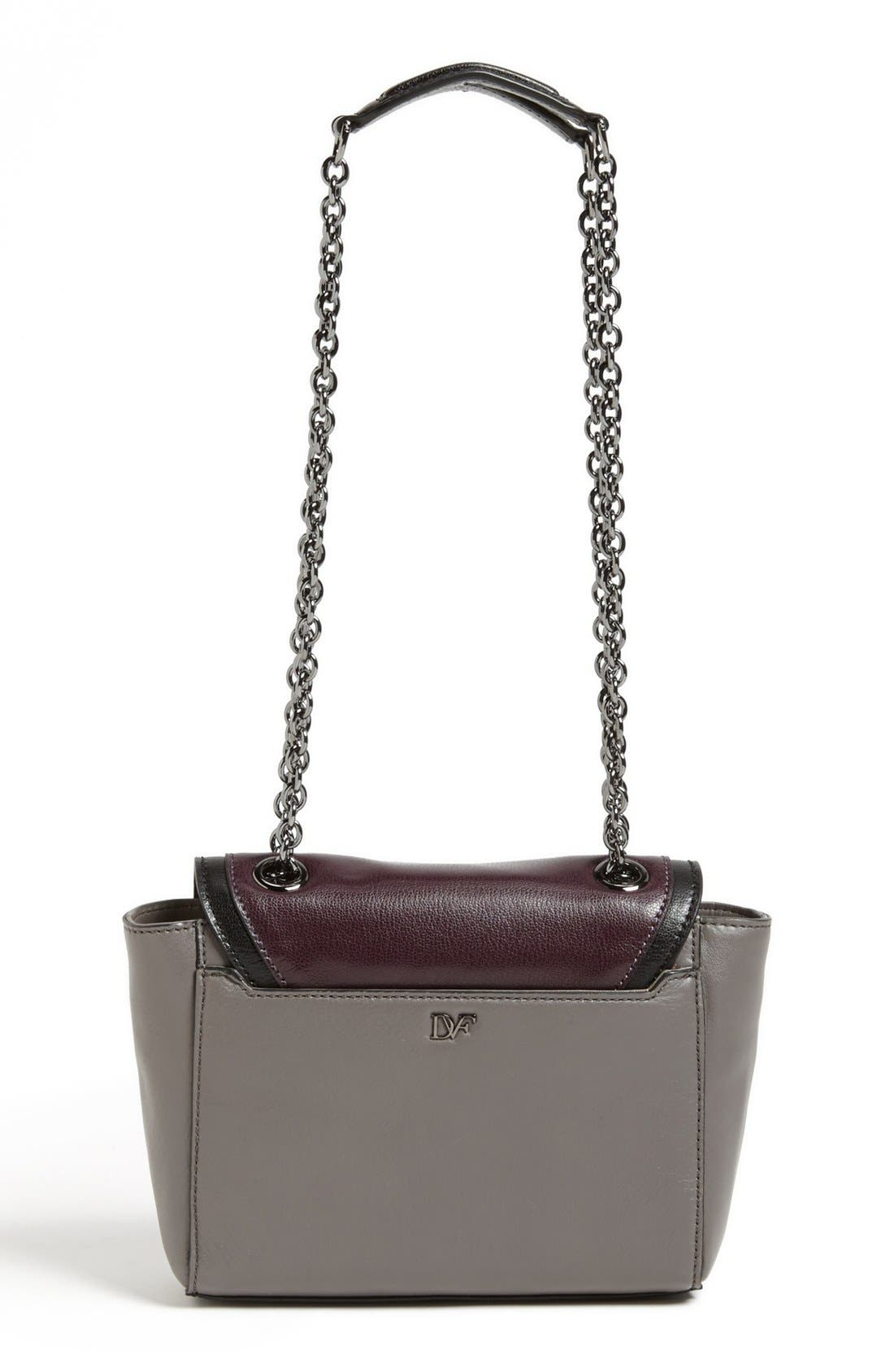 Alternate Image 4  - Diane von Furstenberg '440 Mini' Colorblock Satchel