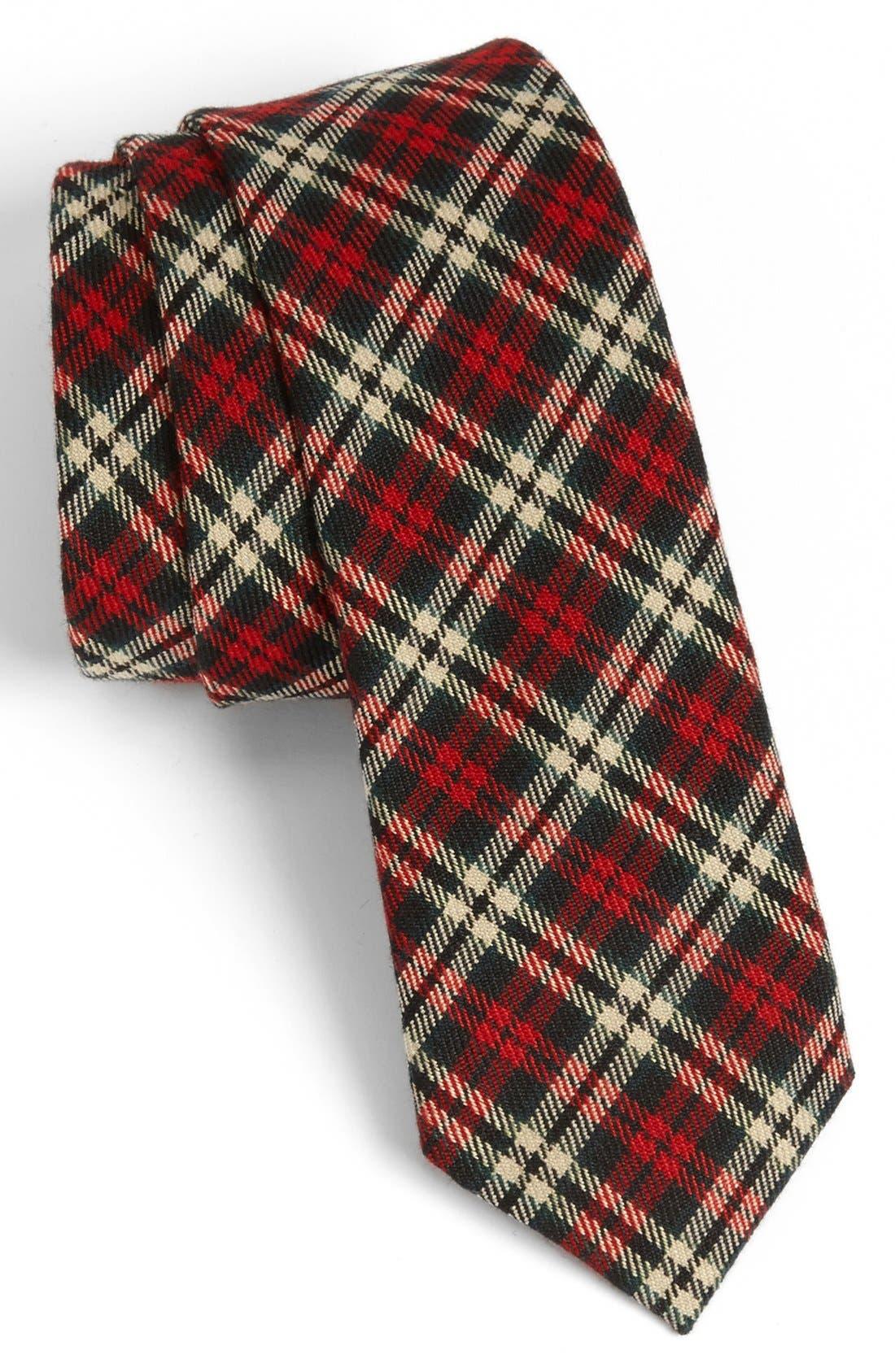 Alternate Image 1 Selected - Topman Plaid Tie