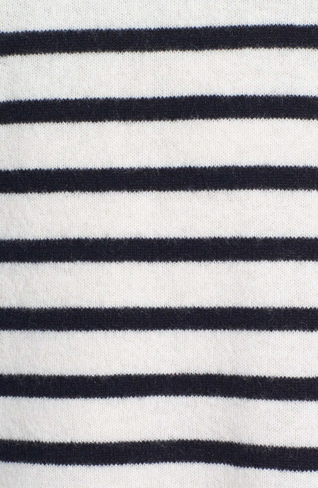 Alternate Image 3  - Vince Colorblock Breton Stripe Cashmere Sweater