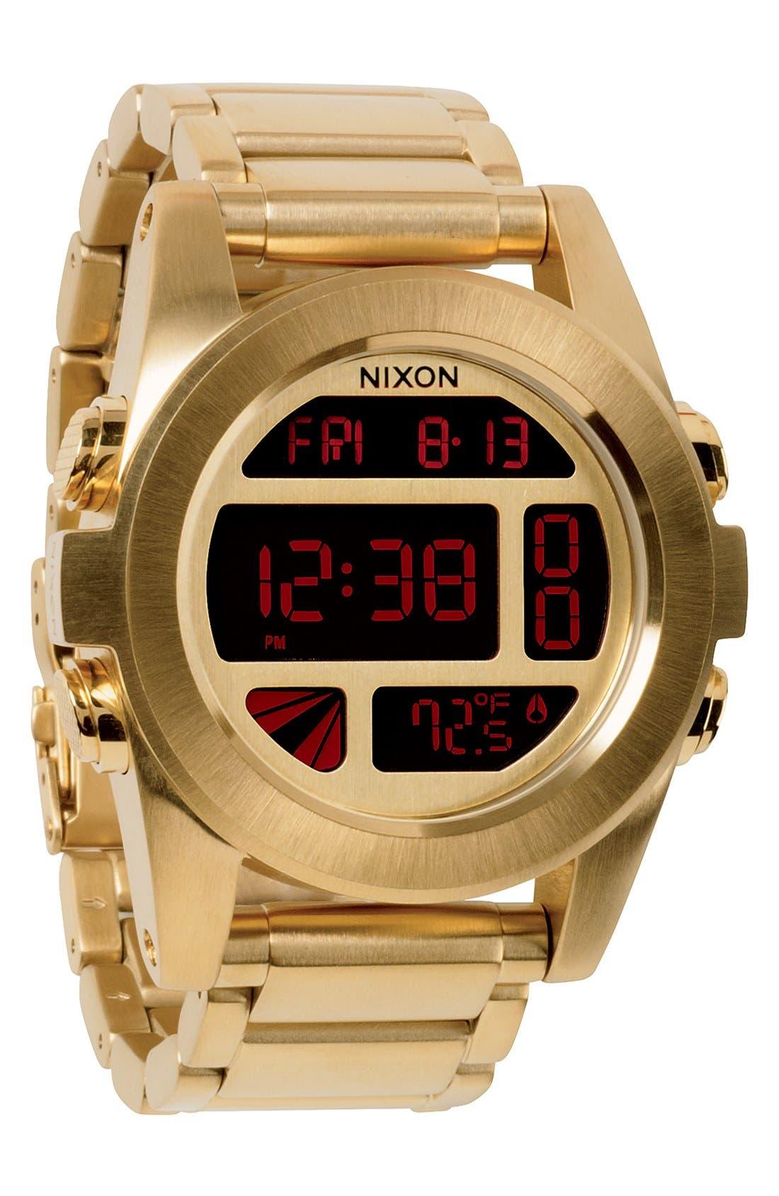 Alternate Image 1 Selected - Nixon 'The Unit' Bracelet Watch, 50mm