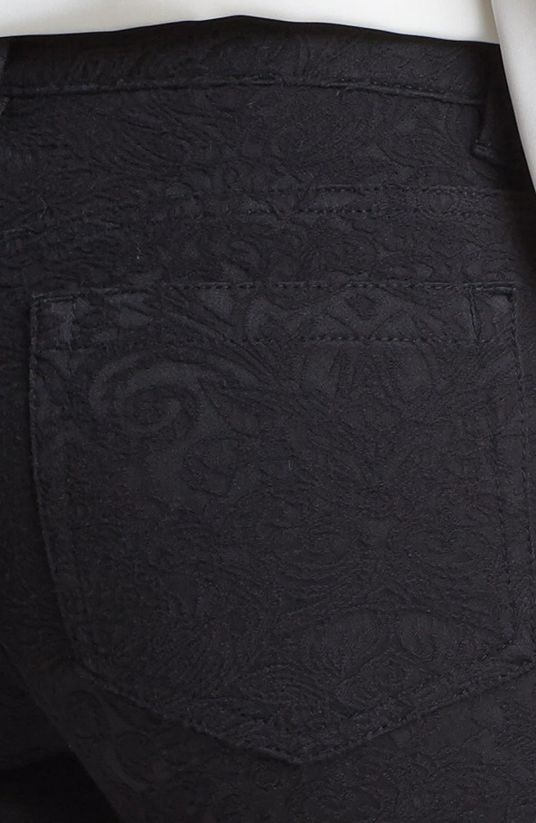 Alternate Image 3  - Two by Vince Camuto Tonal Jacquard Jeans