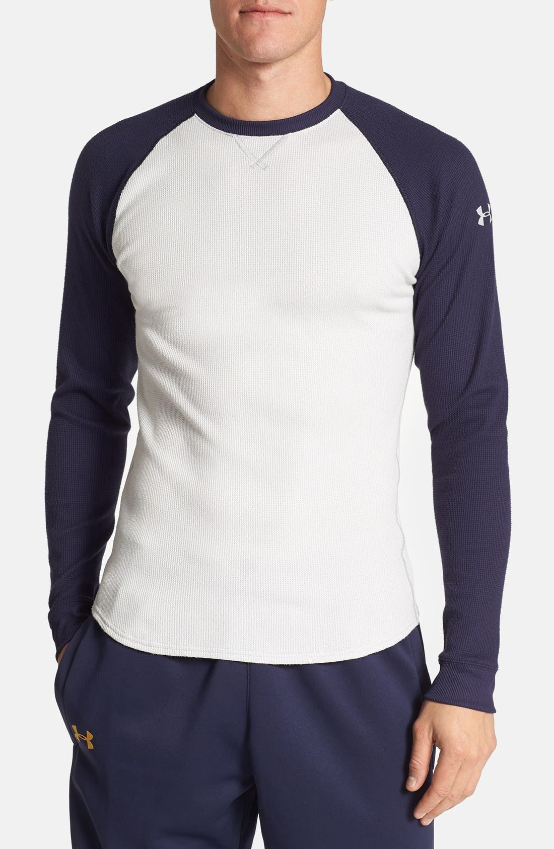 Alternate Image 1 Selected - Under Armour All Season® Thermal T-Shirt