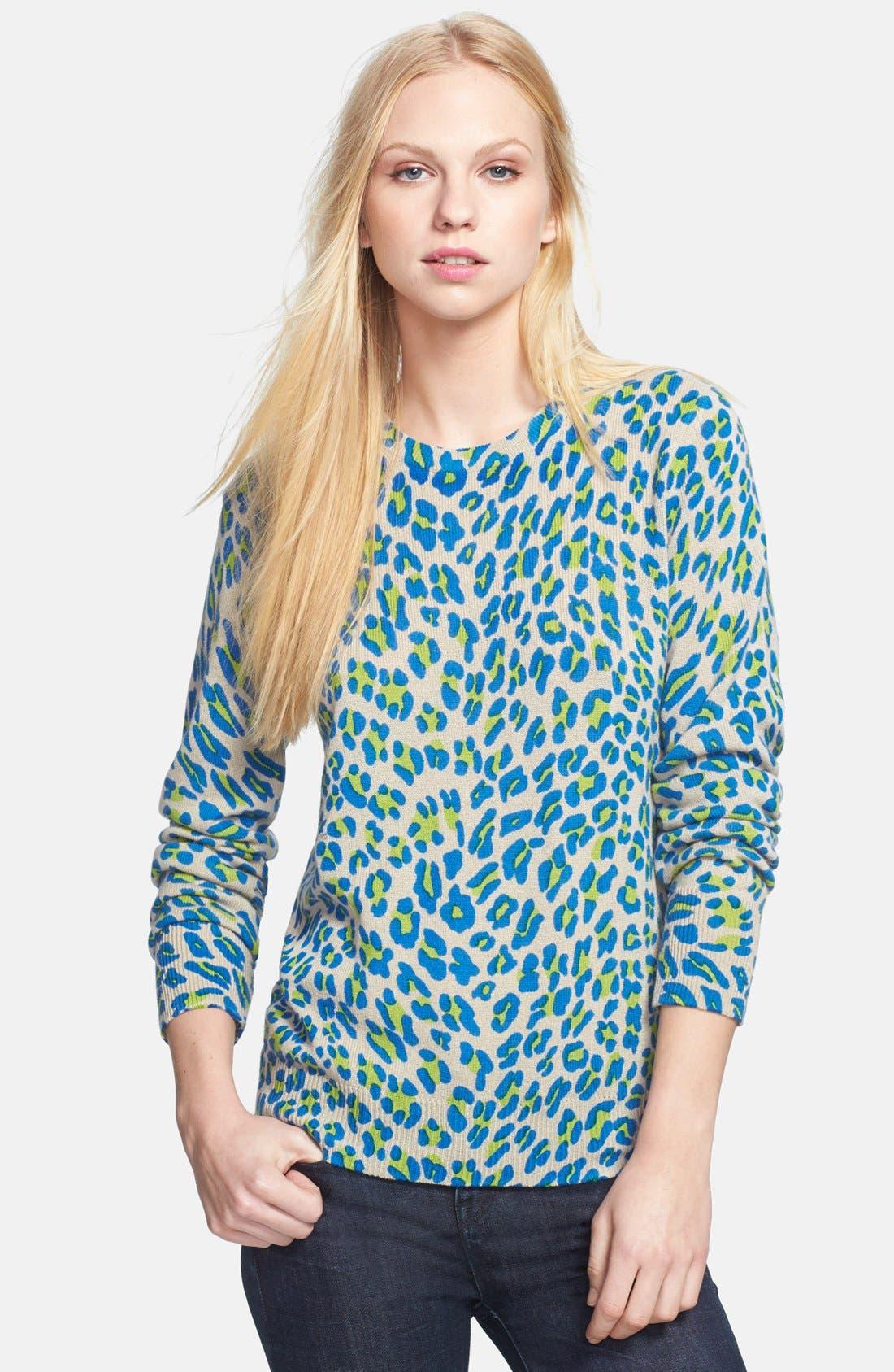 Main Image - Equipment 'Shane' Leopard Spot Cashmere Sweater