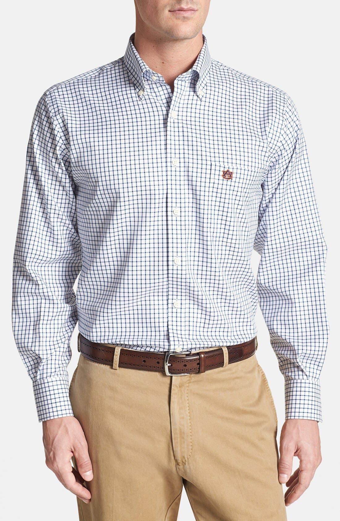 Main Image - Peter Millar 'Auburn University' Twill Sport Shirt