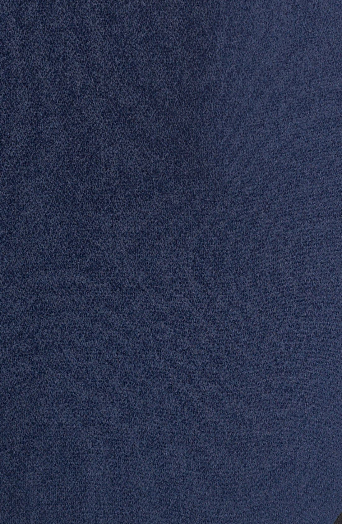 Alternate Image 3  - Rachel Roy Colorblock Crepe Sheath Dress