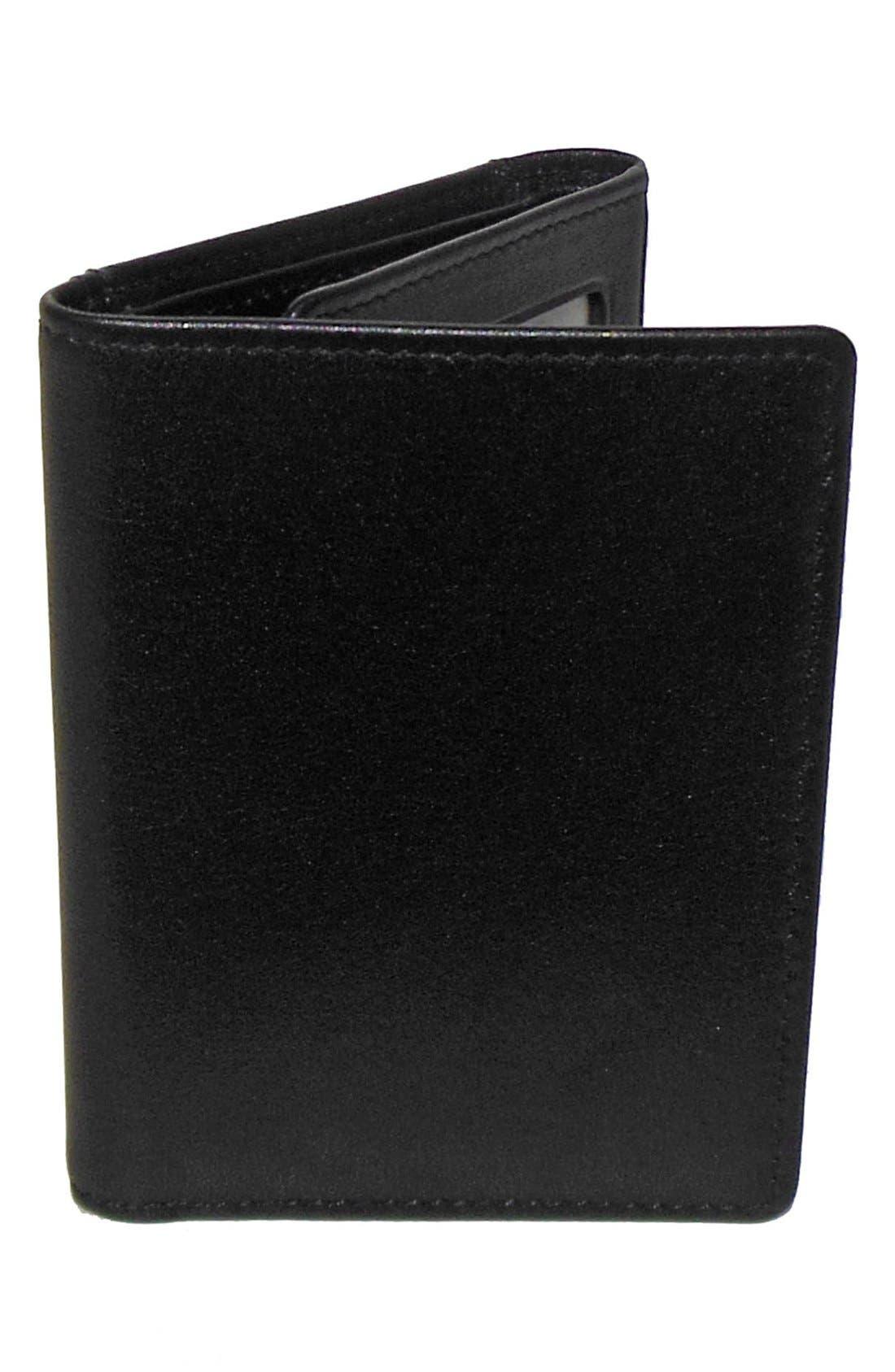 Alternate Image 1 Selected - Boconi 'Grant' RFID Blocker Leather Trifold Wallet