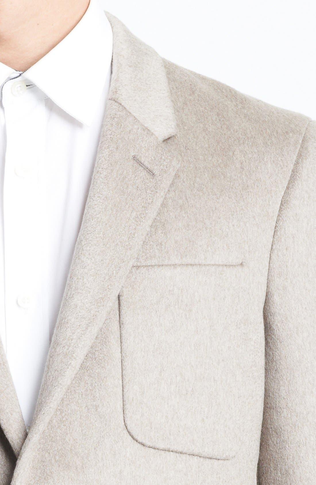 Alternate Image 2  - Burberry London 'Merridale' Extra Trim Fit Cashmere Sportcoat