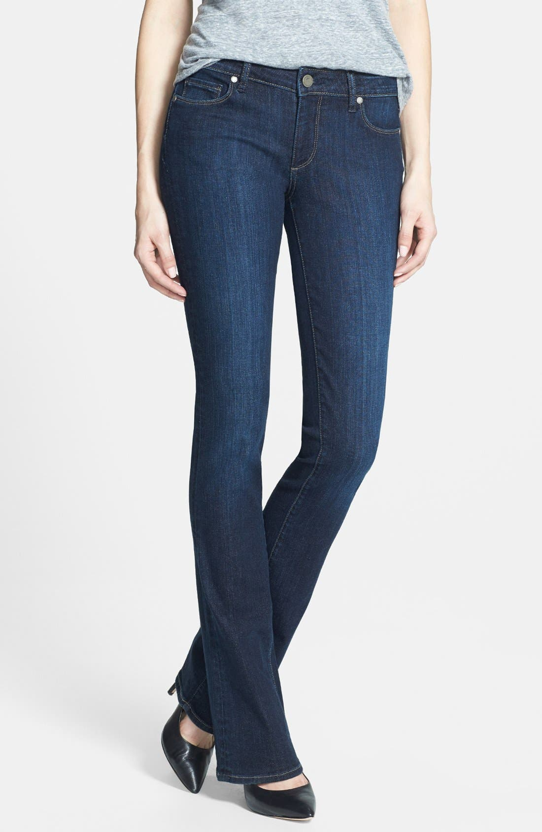 Alternate Image 1 Selected - Paige Denim 'Manhattan' Baby Bootcut Jeans (Trinity)