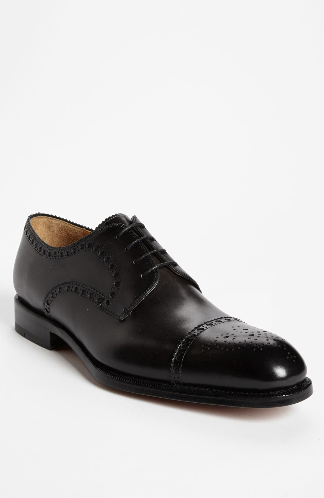 Alternate Image 1 Selected - Magnanni 'Alba' Cap Toe Derby (Men) (Online Only)