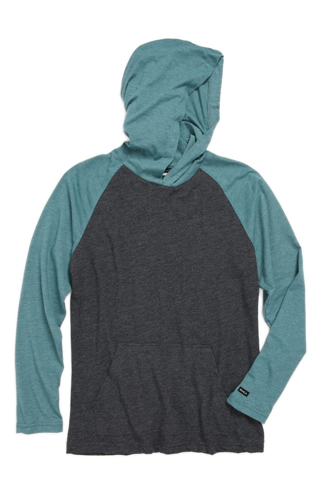 Alternate Image 1 Selected - RVCA 'Castro' Hoodie (Big Boys)