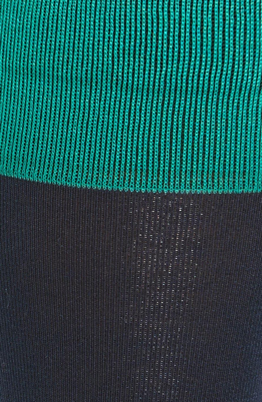 Alternate Image 2  - Tommy John Solid Cotton Blend Socks