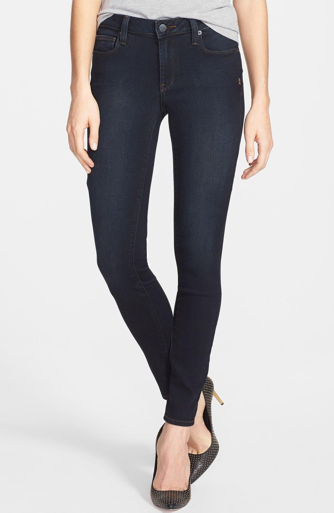 Main Image - Genetic 'The Stem' Cigarette Skinny Jeans (Nomad)