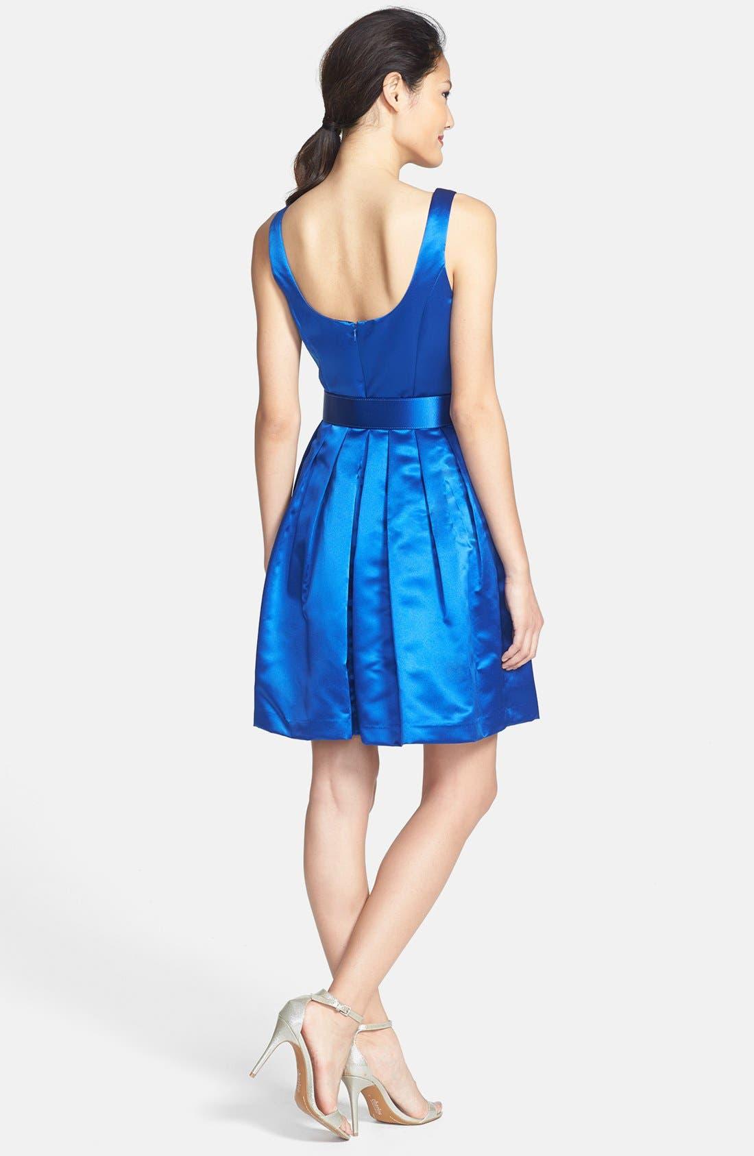 Alternate Image 2  - Donna Morgan Bow Belt Party Dress