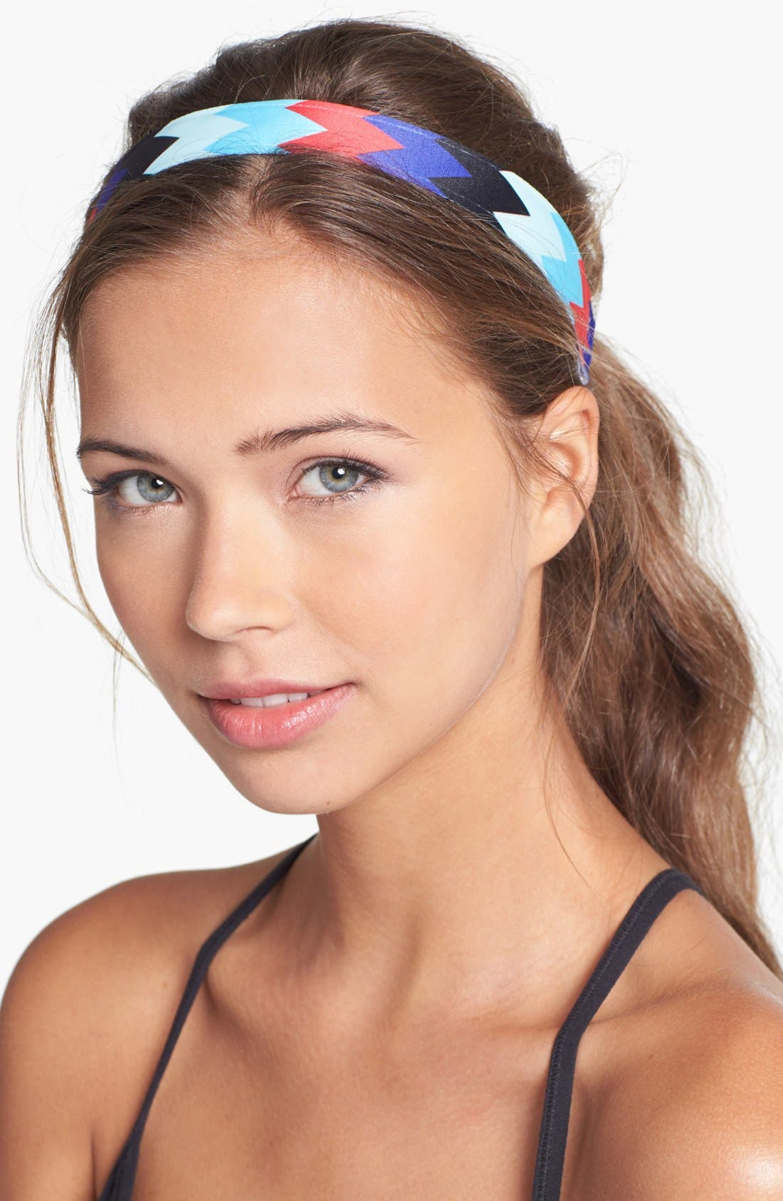 Alternate Image 1 Selected - Sweaty Bands 'Chevron Shuffle' Head Wrap