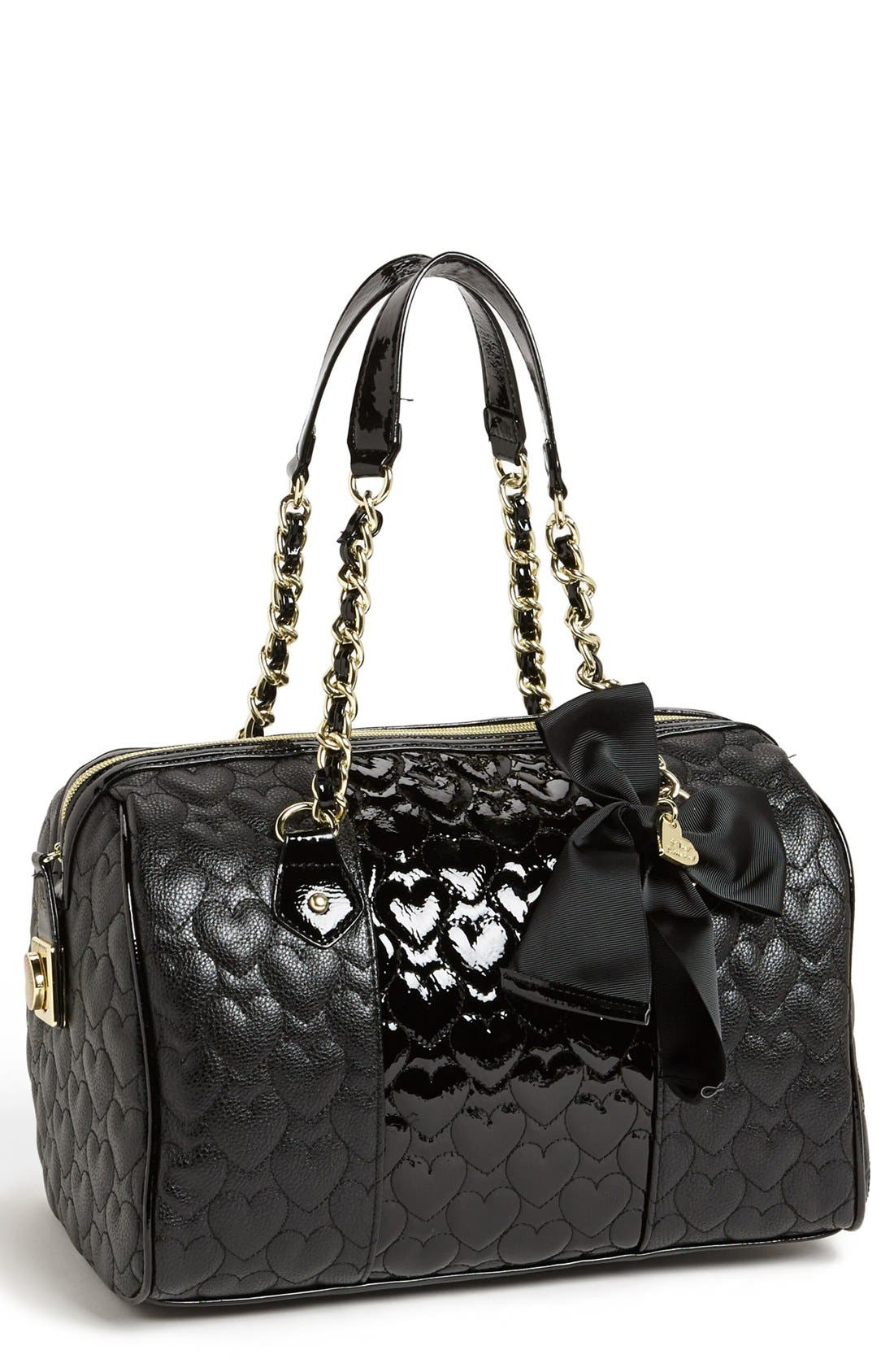 Alternate Image 1 Selected - Betsey Johnson 'Be My Wonderful' Satchel