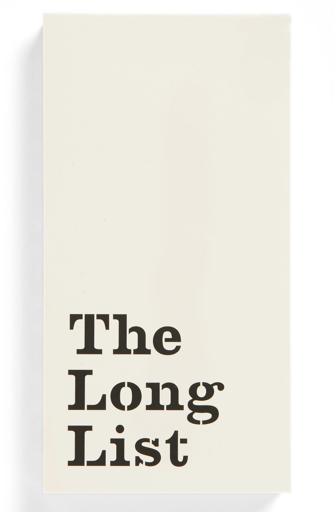 Alternate Image 1 Selected - kate spade new york 'the long list' large notepad