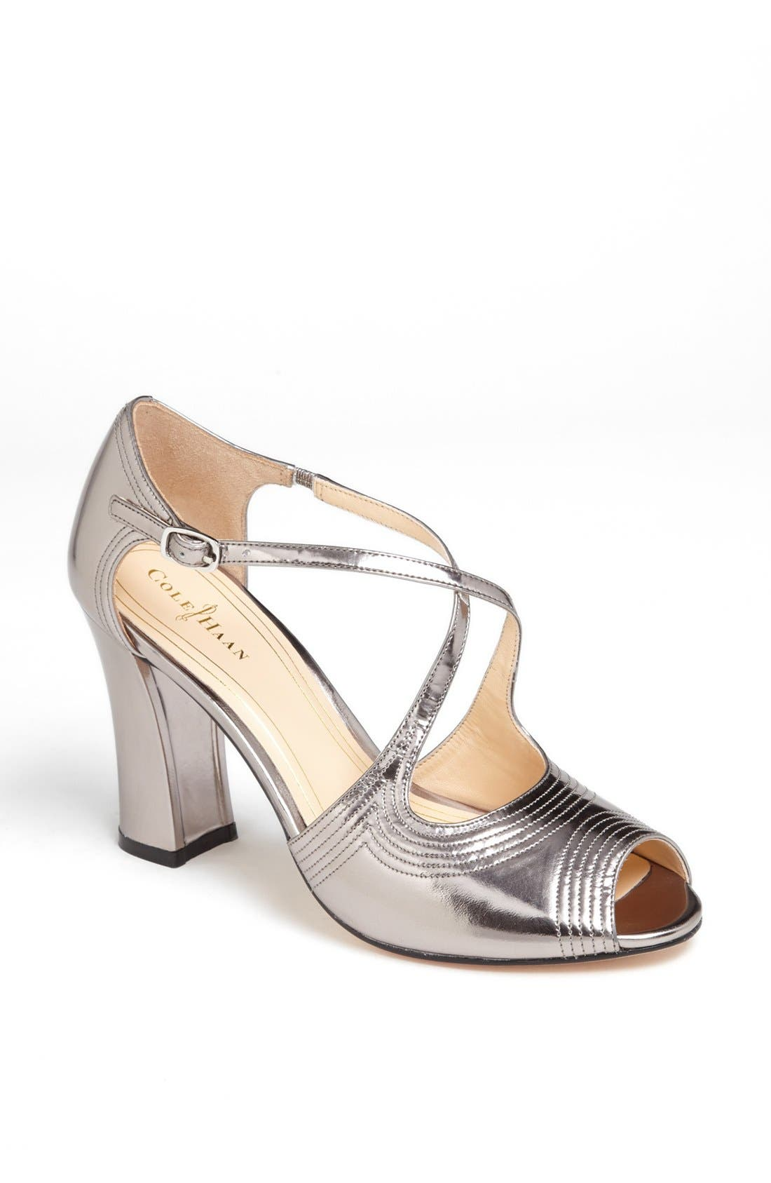Alternate Image 1 Selected - Cole Haan 'Jovie' Mirrored Sandal