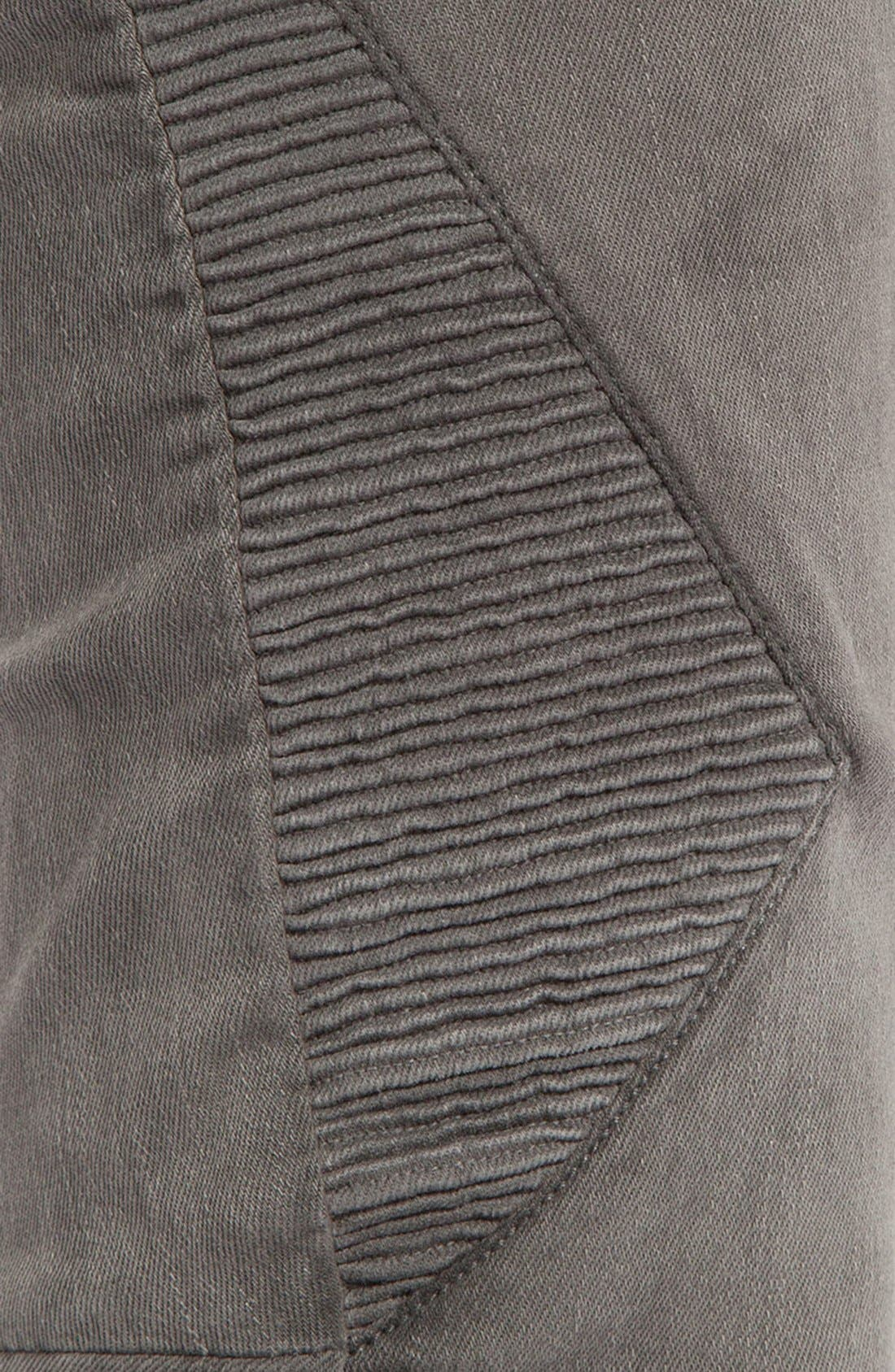 Alternate Image 3  - maje 'Diabolo' Skinny Jeans (Charcoal Grey)