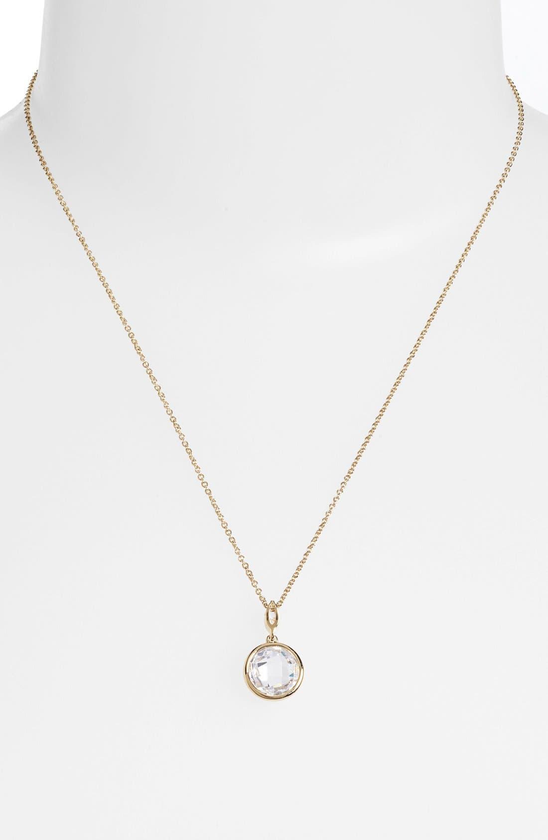 Main Image - Nadri Boxed Bezel Framed Pendant Necklace