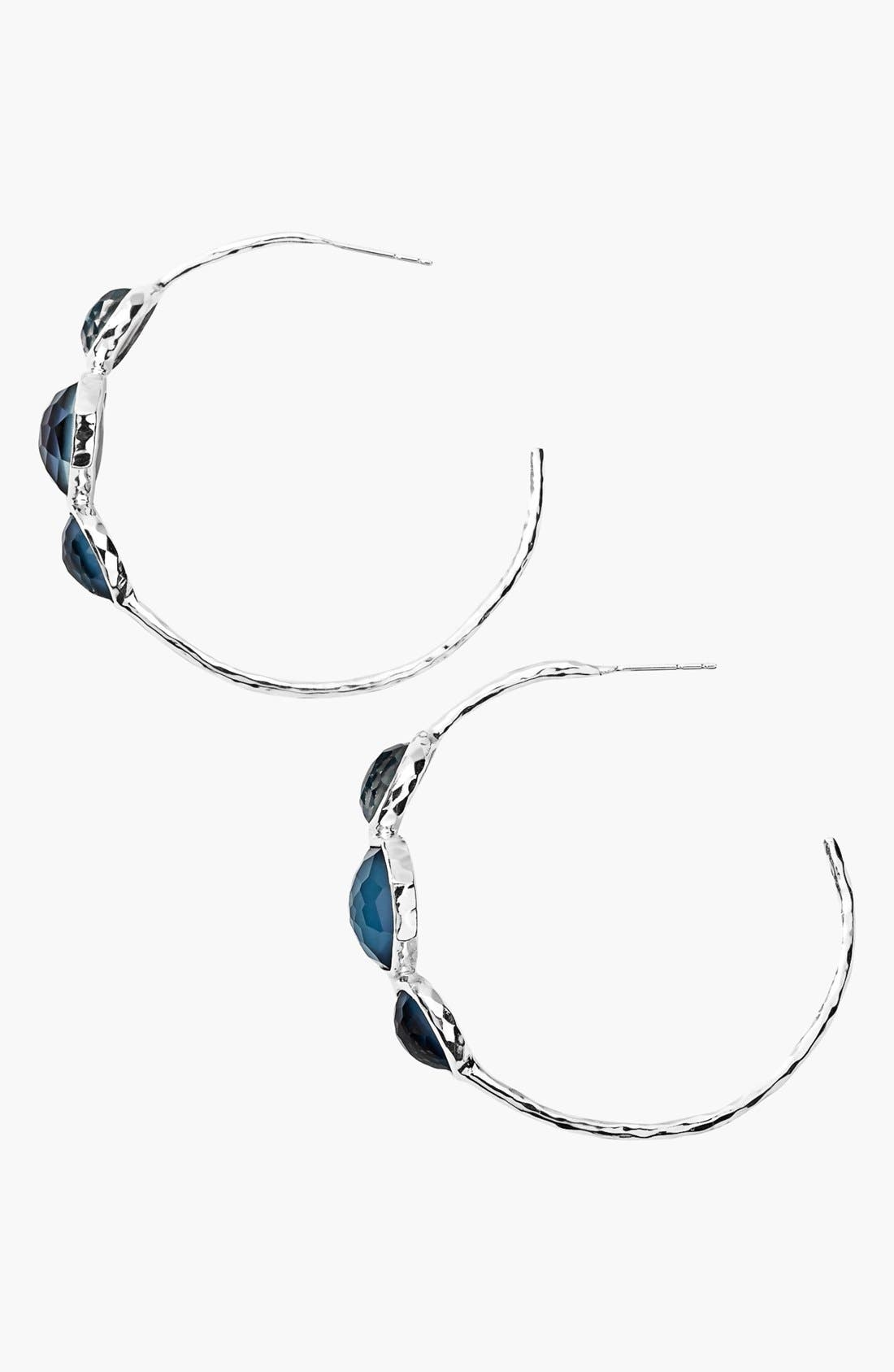 Alternate Image 2  - Ippolita 'Wonderland - Gelato' Station Hoop Earrings (Nordstrom Exclusive)