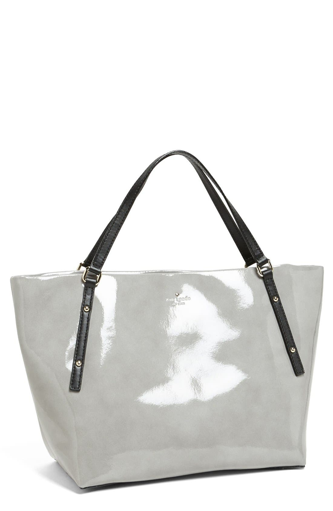 Alternate Image 1 Selected - kate spade new york 'jackson square - sophie' patent leather tote, large