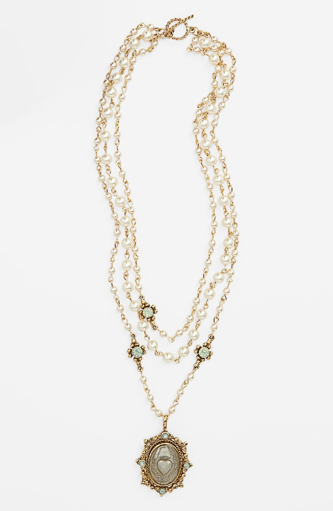 Alternate Image 1 Selected - Virgins Saints & Angels 'Oval Magdalena' Necklace (Nordstrom Exclusive)