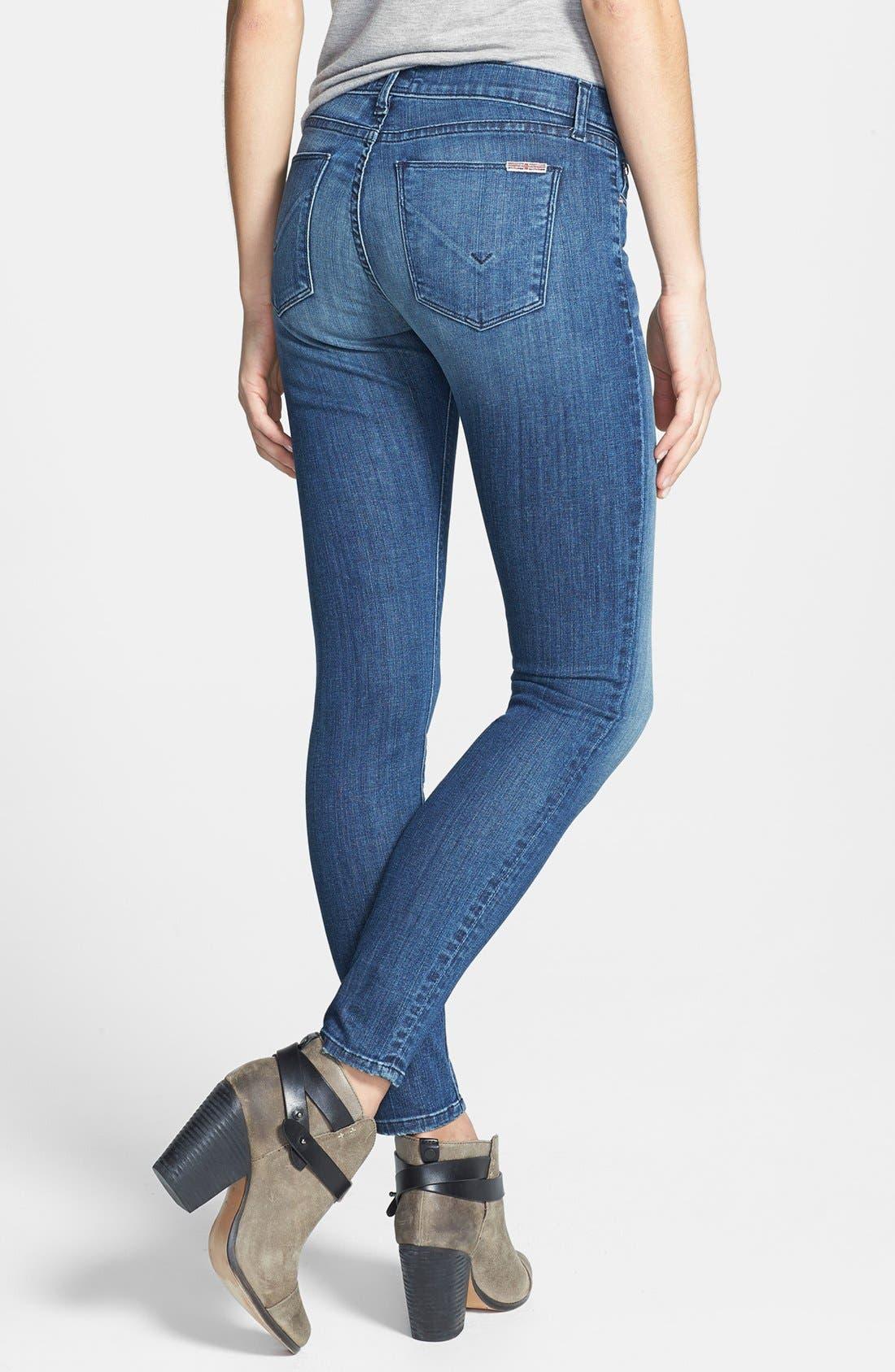Alternate Image 2  - Hudson Jeans 'Krista' Super Skinny Jeans (Supervixen)