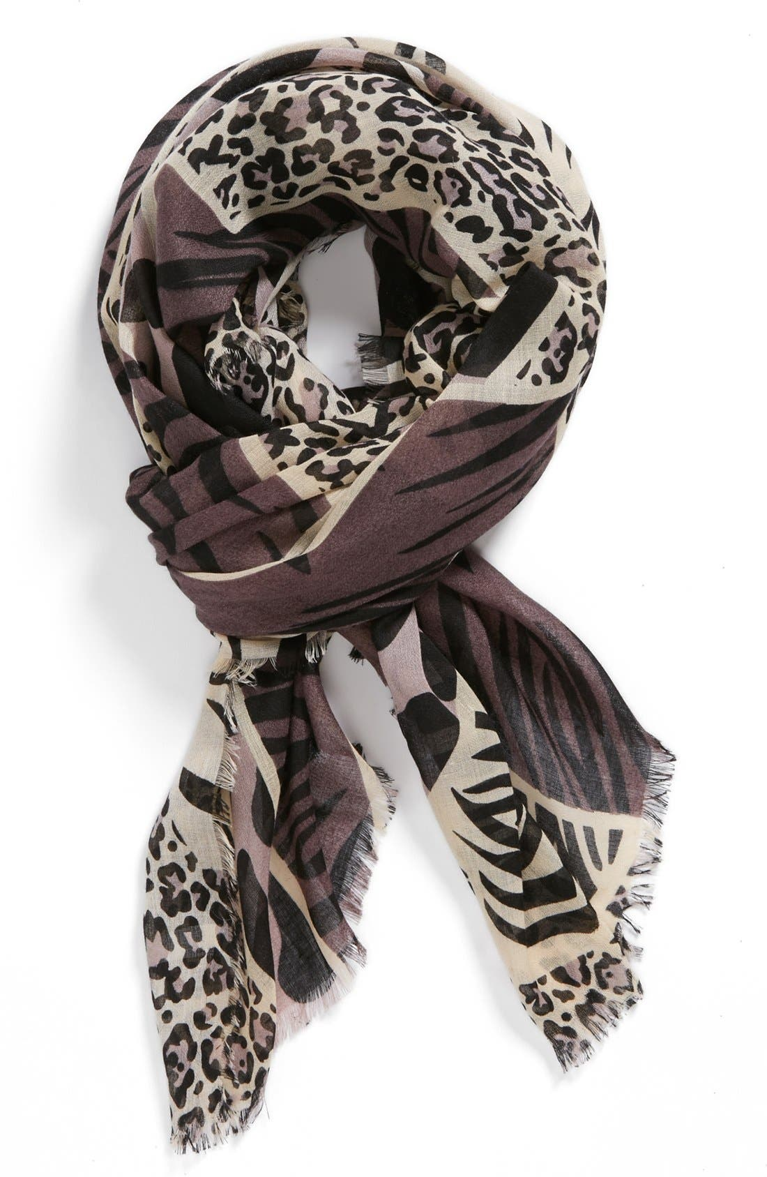 Main Image - Tasha 'All the Animals' Scarf (Special Purchase)