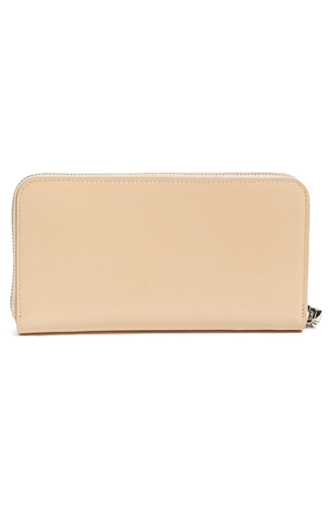 Alternate Image 3  - Fendi 'Crayons - Vernice' Leather Continental Wallet