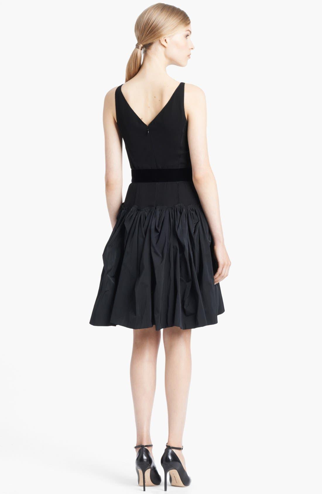 Alternate Image 2  - Nina Ricci Belted Full Skirt Dress