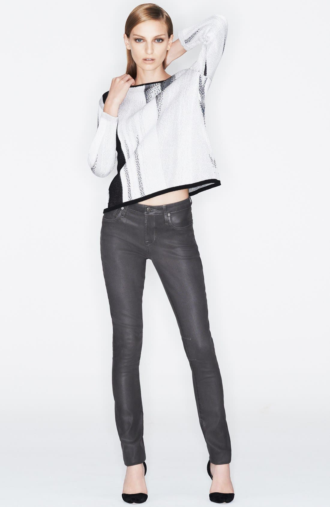 Alternate Image 5  - HELMUT Helmut Lang 'High Gloss' Skinny Pants