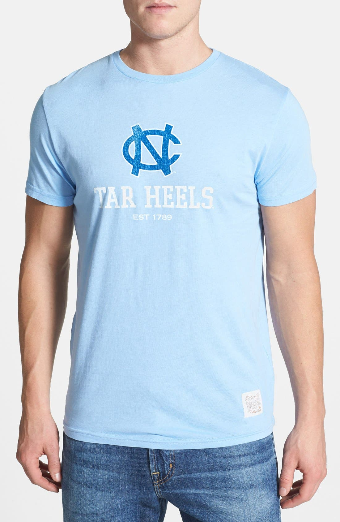 Alternate Image 1 Selected - Retro Brand 'North Carolina Tar Heels' T-Shirt