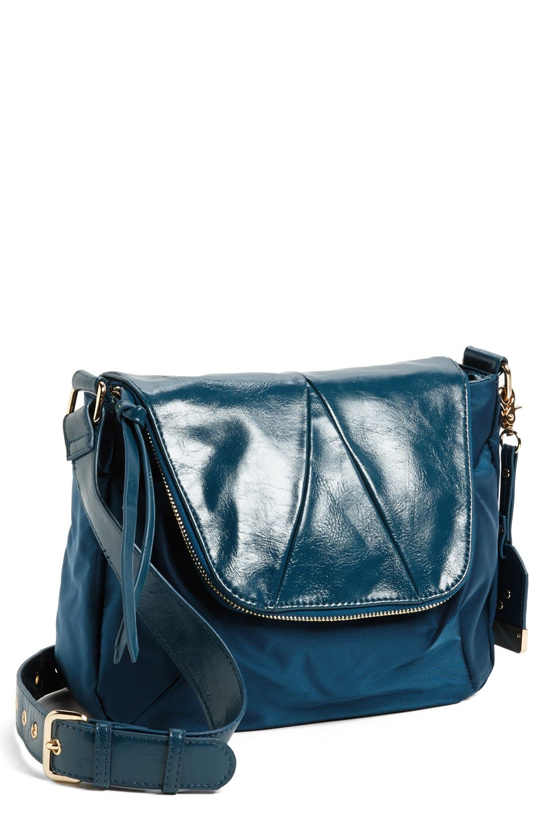 Alternate Image 1 Selected - POVERTY FLATS by rian Nylon Crossbody Bag