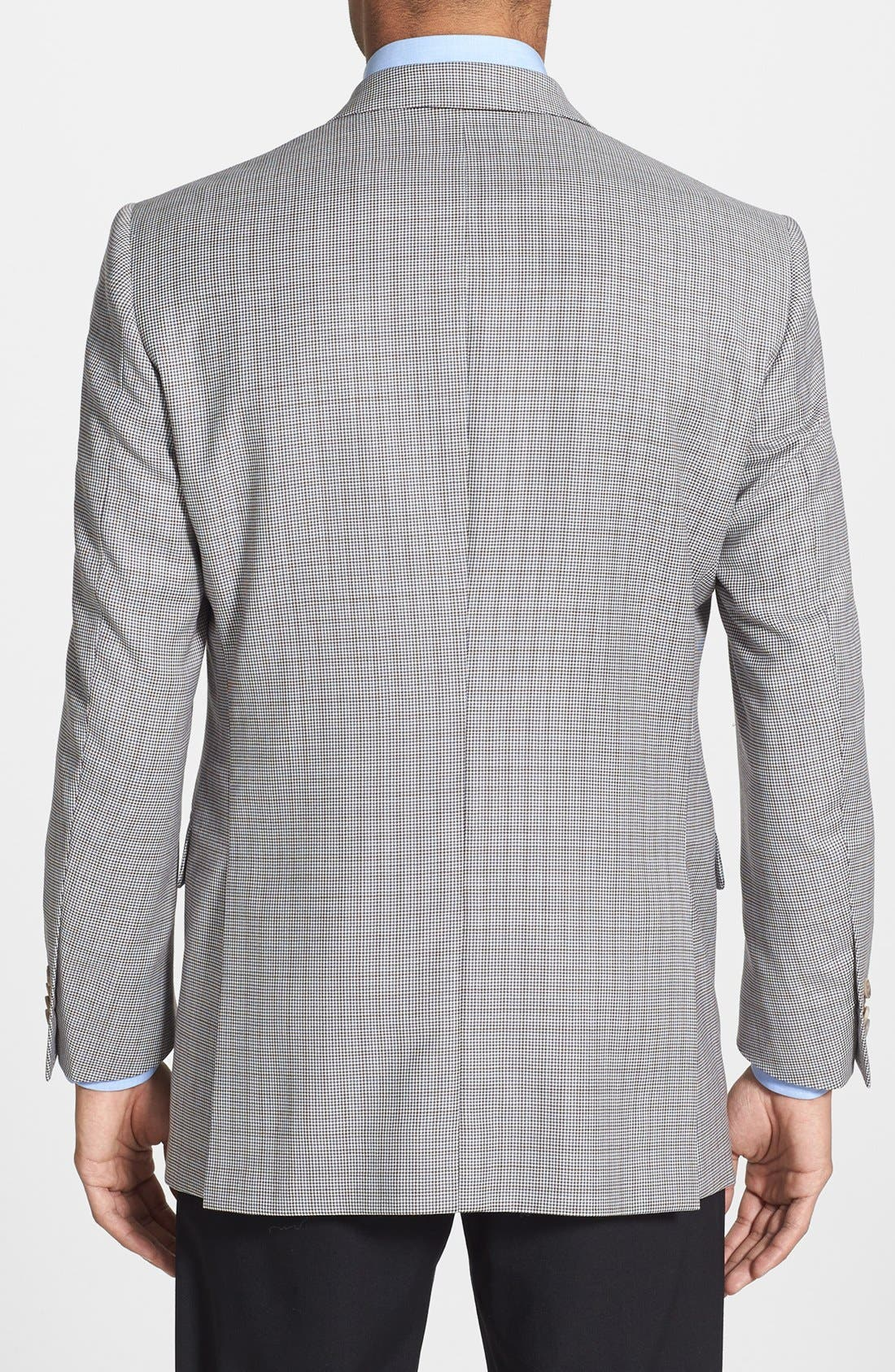 Alternate Image 2  - Peter Millar Classic Fit Check Sportcoat