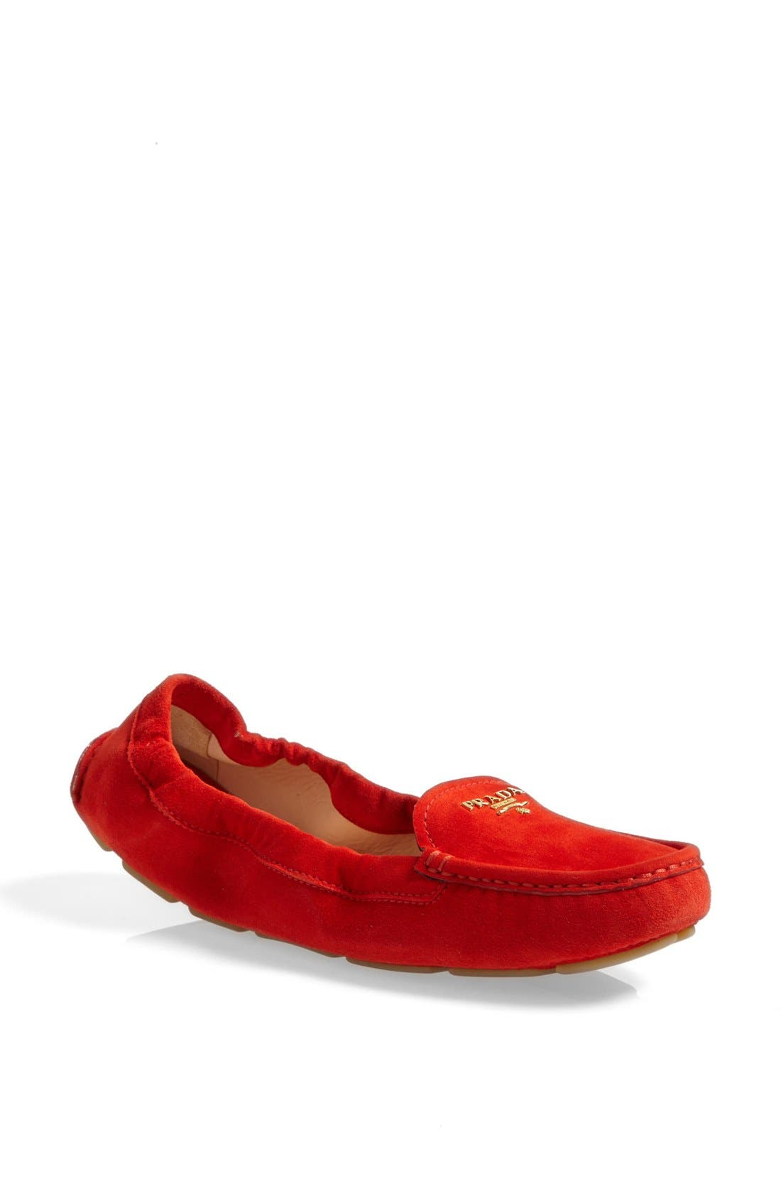 Alternate Image 1 Selected - Prada Scrunchy Moccasin Driver