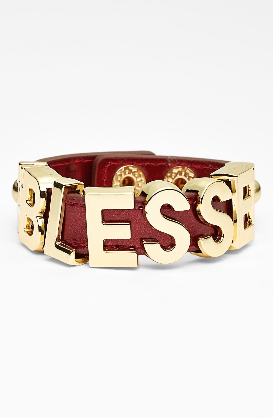 Alternate Image 1 Selected - BCBGeneration 'Hashtag Blessed' Bracelet