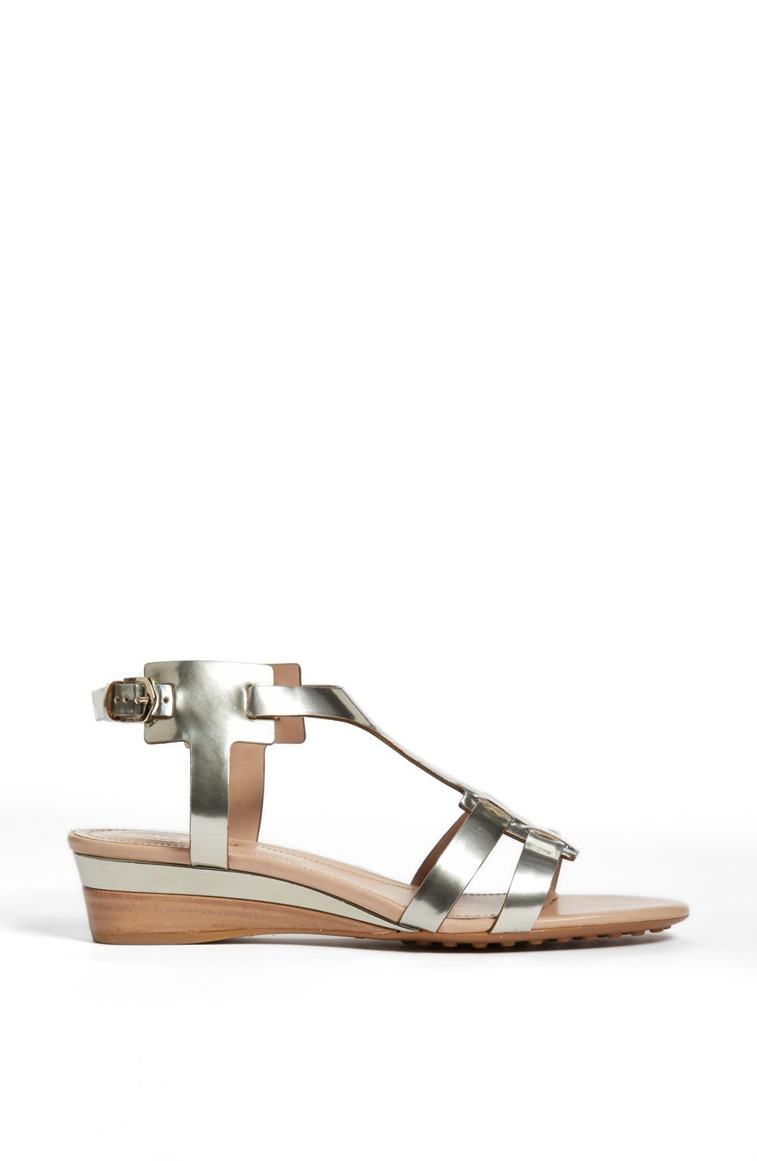 Alternate Image 4  - Tod's 'Zeppa' Wedge Sandal