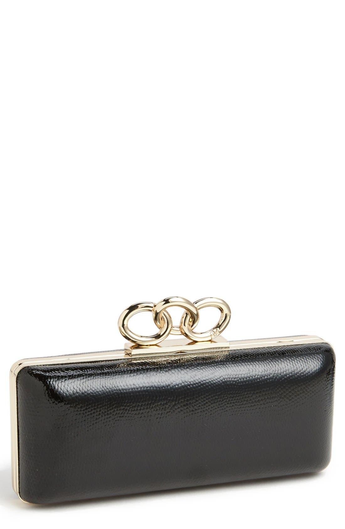 Main Image - Diane von Furstenberg 'Sutra' Leather Minaudiere