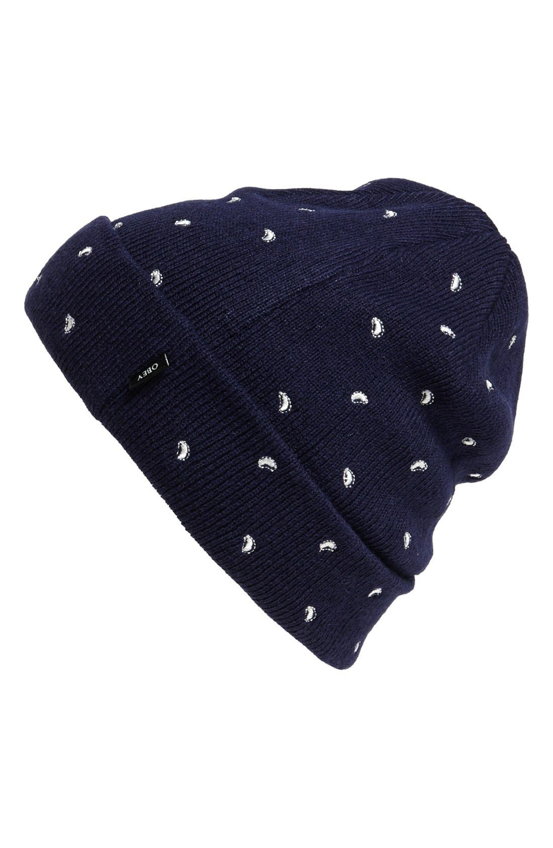 Main Image - Obey 'Dynasty' Knit Cap