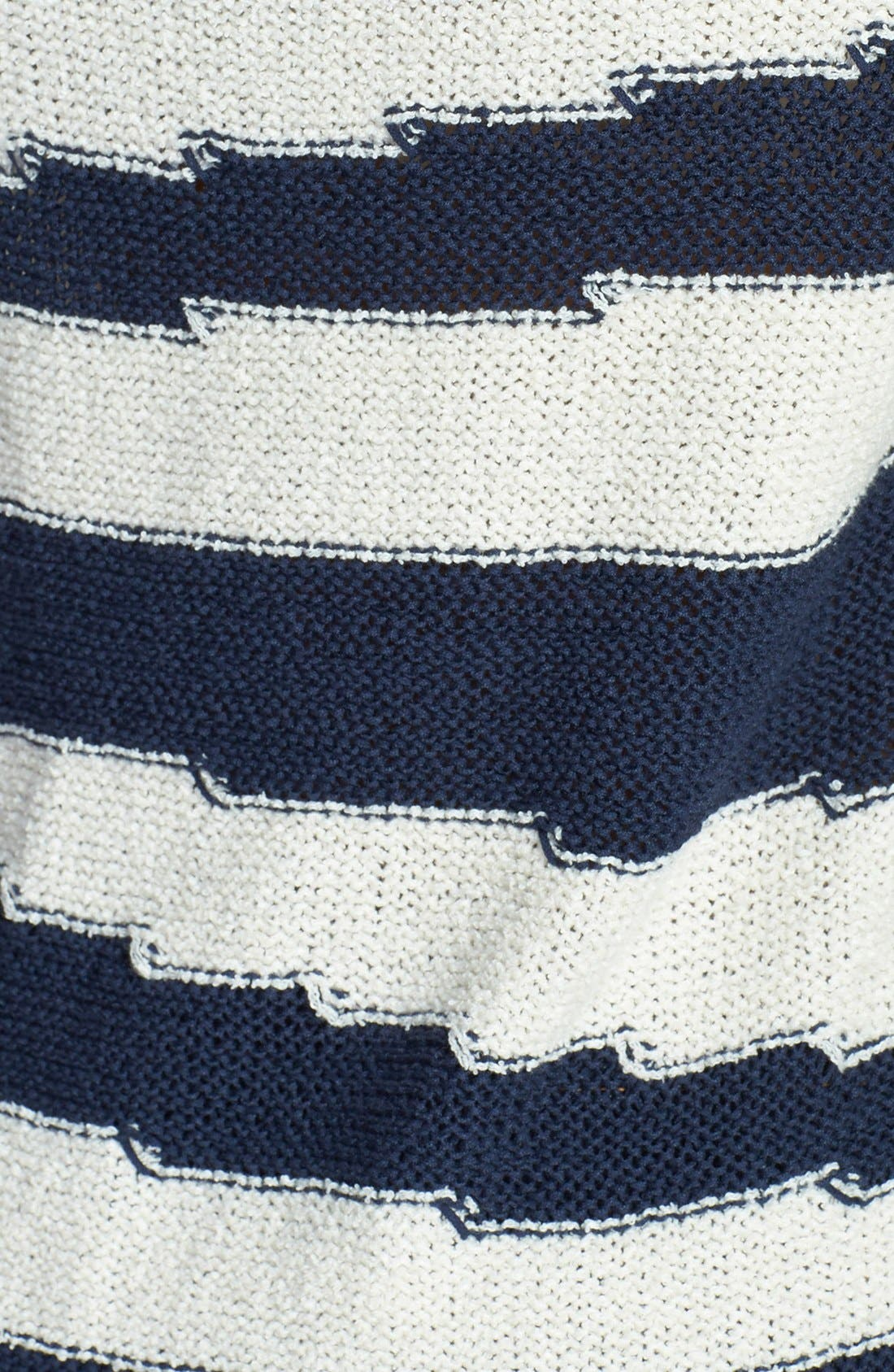 Alternate Image 3  - Lucky Brand 'Atwater' Intarsia Stripe Cotton Blend Sweater