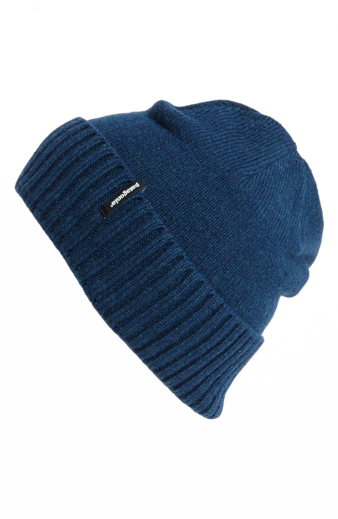 Main Image - Patagonia 'Brodeo' Merino Wool Blend Beanie
