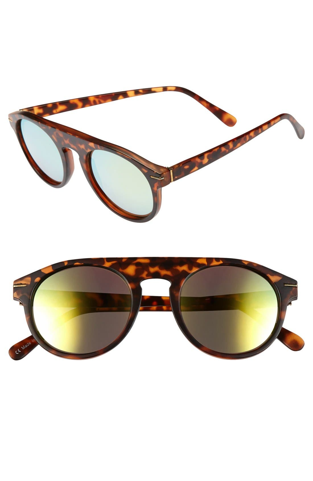 Main Image - Leith 'Echo' 49mm Sunglasses