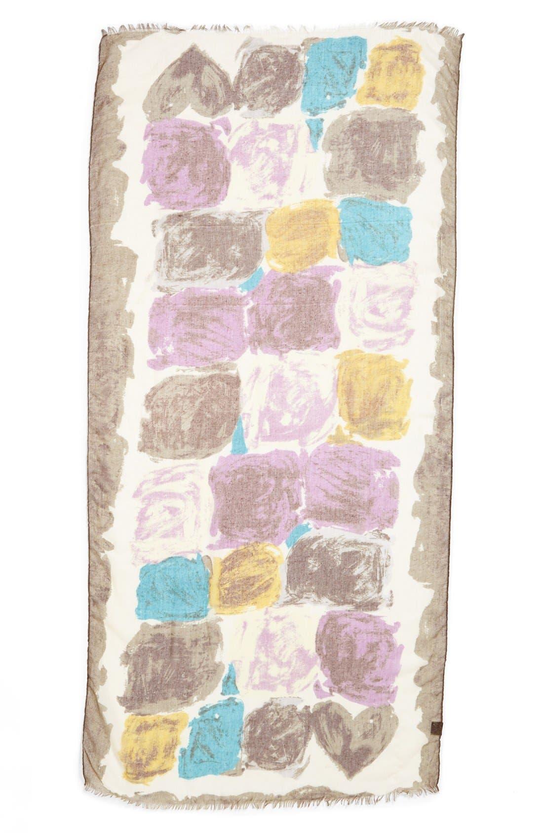 Alternate Image 2  - Tasha 'Paint Puddles' Scarf