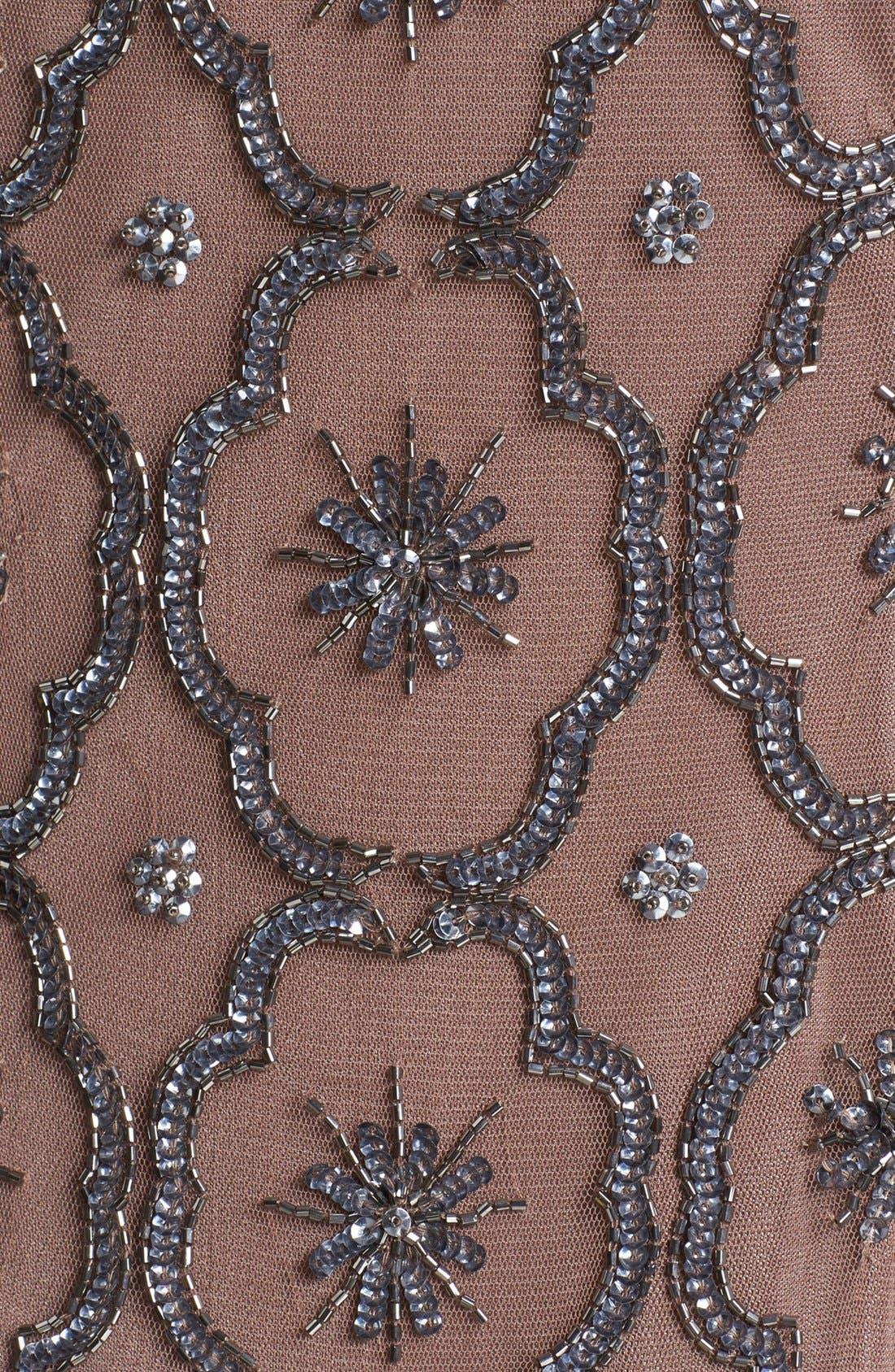 Alternate Image 3  - Pisarro Nights Embellished Drop Waist Midi Dress
