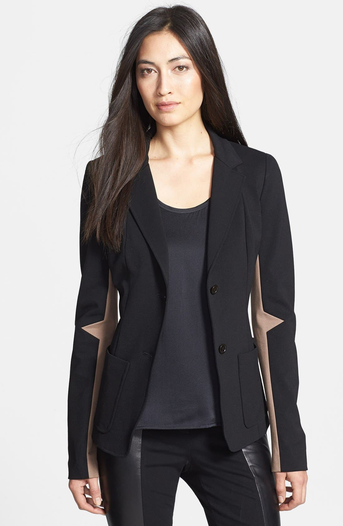 Alternate Image 1 Selected - Rachel Roy Ponte Knit Jacket
