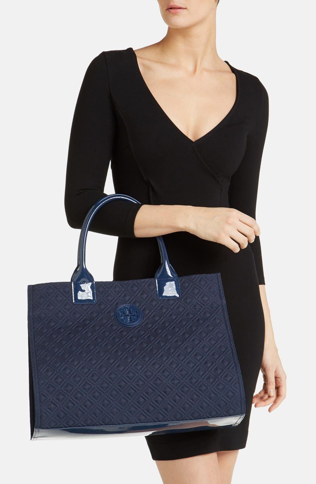 Alternate Image 2  - Tory Burch 'Ella' Quilted Tote, Extra Large