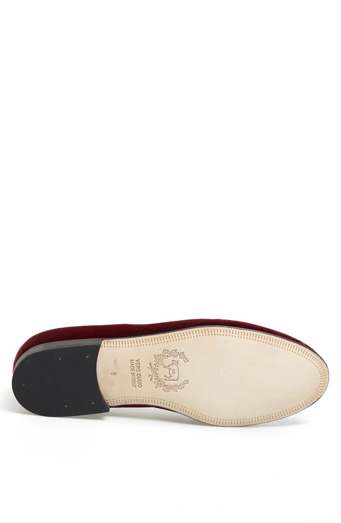 Alternate Image 4  - Del Toro Velvet Loafer