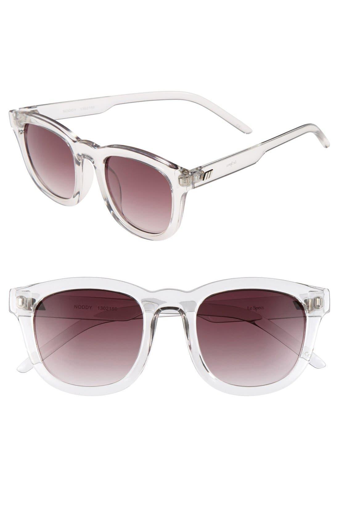 Alternate Image 1 Selected - Le Specs 'Noddy' 49mm Retro Sunglasses