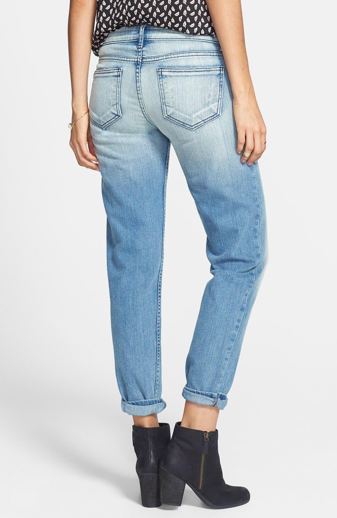 Alternate Image 2  - STS Blue 'Joey' Destroyed Boyfriend Jeans